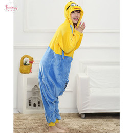 Wholesale pajama jumpsuits resale online – Pajama Animal Onesies Bell Adult Overall Costume Women Men Party Jumpsuit Cartoon Onepiece Stitch Panda Funny Suit