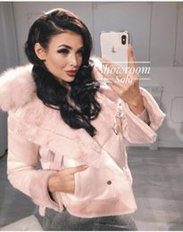Wholesale faux fur suede jackets for sale - Group buy Russian women s European and American fashion suede faux fur coat jacket explosion models supply of cross border trade