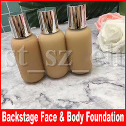 Face Glow Cream Australia - Famous Backstage Face Makupe Face & Body Foundation Waterptoof Sweat-Resistant Liquid Foundation Natural Glow Finish 50ml 3 Colors