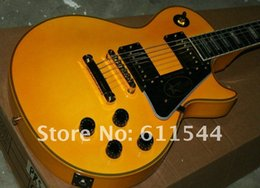 Custom Shop Ebony Fingerboard Australia - Yellow Custom Shop ROADY Ebony Fingerboard Electric Guitar High Wholesale