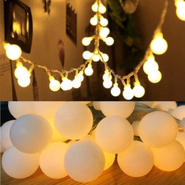 timer light bulbs UK - Battery Operated String Lights, 33ft 10m 100 LED Bulb Warm White Globe String Lights with Remote Controller, Decorative Timer Fairy Light
