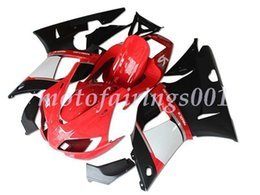 $enCountryForm.capitalKeyWord NZ - New style ABS Fairings Kit Fit For Yamaha YZF-R1 R1 1998 1999 98 99 Custom Free White red and Black