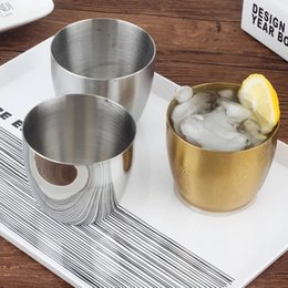 $enCountryForm.capitalKeyWord Australia - 240ml 304 stainless steel tumblers 8OZ single layer beer drinks water cups thickening beer coffee mugs