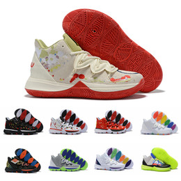 $enCountryForm.capitalKeyWord NZ - 2019 Mens 5 Kyrie Basketball Shoes Irving 5s Rainbow Easter Mother's Day Smile Friends Rokit Ikhet des Chaussures Sport Trainers Baloncesto