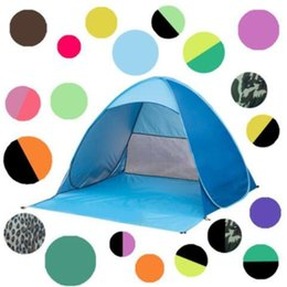 Pop Up Beach Shade Australia - Camping Tent Outdoor Sun Shade Hiking Beach Tent Automatic Portable Pop Up Beach Tent CTS001