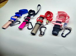 Vape Pod Carry On Kit con tapa de silicona a prueba de polvo Lanyard Necklace Band Ring Buckle Holder For COCO Jul SMPO MT Myle pluma plana