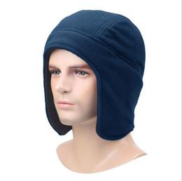 02Winter hat outdoor men s plus velvet hat riding warm thickening female  skiing earmuffs fleece hat b1bacfce3180