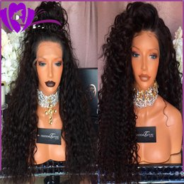 $enCountryForm.capitalKeyWord Australia - Lace front Synthetic Afro Kinky Curly Wigs Long Lace Front Wig for African American Black Women