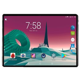 Dual Sim Tablets 4gb Ram Australia - Global Version 10 inch tablet Octa Core 4GB RAM 32GB ROM 4G FDD LTE 1280*800 IPS Dual SIM Card Wifi GPS Android 7.0 tablet 10