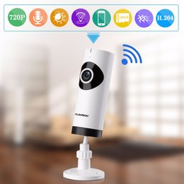 wireless p2p network camera 2019 - Mini Infrared Wireless WIFI Fisheye Security Surveillance P2P HD 720P CCTV IP Network Camera Night Vision System Baby Mo