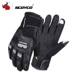 $enCountryForm.capitalKeyWord Australia - touch motorcycle glove SCOYCO Motorcycle Genuine Cow Leather Moto Touch Screen Waterproof Motocross Gloves Winter Motorbike Riding Gloves