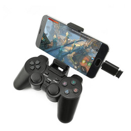 android phone otg NZ - Wireless Gamepad For PC For PS3 Android Phone TV Box Joystick 2.4G Joypad Remote Xiaomi Micro USB Type C OTG Smart Phone