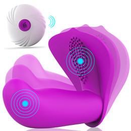 $enCountryForm.capitalKeyWord UK - Vibrating Remote Control G-spot Vibrator Clit Massage Vagina Dildo Clitoris Stimulation Adult Erotic Sex Toys For Woman Sex Shop Y19062102