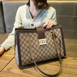 Großhandel 2019 New Todd Beutel-große Kapazitäts-Handtasche echtes Leder Art und Weise einzelne Schulter-Kette Damen Tasche