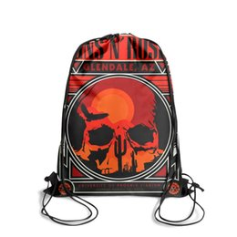 $enCountryForm.capitalKeyWord UK - Sports backpack Guns N' Roses hatop vintage skull cotton linen cushion cover throw waist pillow case sofa home decor fashion popular persona