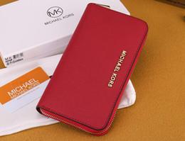 $enCountryForm.capitalKeyWord Australia - 2019 new fashion classic solid color long zipper hand wallet multi-card position wrist bag multi-color free post