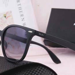 Sun Glasses Leopard NZ - Top Quality New Fashion Sunglasses For Man Woman Erika Eyewear Designer Brand Sun Glasses Matt Leopard Gradient UV400 Lenses Box and Cases