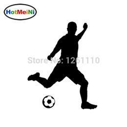 Discount truck windshield decals - wholesale 20pcs lot Soccer Player Mom Personalized Sports Reflective Vinyl Decal Car Sticker For Car Truck Window Wall B