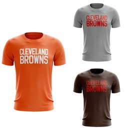 5f0e8aea 2018 New Custom Men's Cleveland Browns Ash Personalized Backer T-Shirt Any  Name & Number T-Shirt