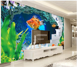 $enCountryForm.capitalKeyWord Australia - Custom 3D photo wallpaper 3d murals wallpapers Underwater world beautiful fish living room TV background wall decorative painting wall paper