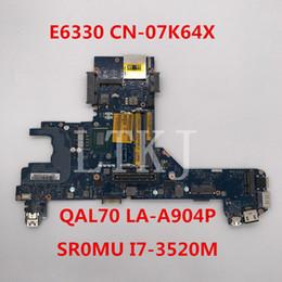 I7 Socket Australia - High quality For Latitude E6330 Laptop motherboard CN-07K64X 07K64X 7K64X QAL70 LA-7741P With SR0MU I7-3520M CPU 100% full Tested