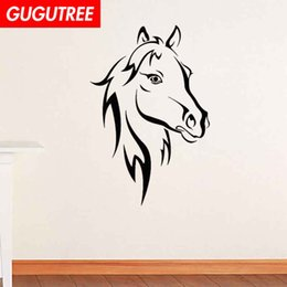 $enCountryForm.capitalKeyWord Australia - Decorate Home horse cartoon art wall sticker decoration Decals mural painting Removable Decor Wallpaper G-1739