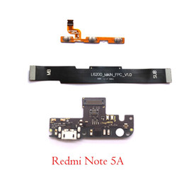 $enCountryForm.capitalKeyWord Australia - power volume strip main board mainboard USB charging charger port boad flex cable microphone for Xiaomi Redmi Note 5A Prime