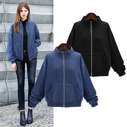 a94b0f6bc027a YICIYA navy blue black women jacket plus size 4xl coats oversized outerwear  large clothes cashmere winter warm 2019 spring coat