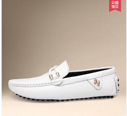 $enCountryForm.capitalKeyWord NZ - 2019 White Black Summer Sale Mailed 20160 New Fashion Sneakers Genuine Leather Mens Breathable Driving Shoes Men 's Loafers Dress