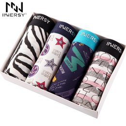 $enCountryForm.capitalKeyWord Australia - Innersy Panties 4Pcs\lot Mens Colorful Underwear Boxers Modal Boxer Men Printed Boxer Shorts Boxers Mens Underwear lotMX190904
