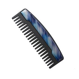 Best Men Hair Australia - Beard Carding Comb Practical And Durable Stainless Steel Men Hair Comb For Best Gift Comb