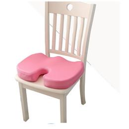 $enCountryForm.capitalKeyWord UK - Travel Memory Foam Seat Cushion Orthopedic Chair Cushion Pad Car Office Hips Tailbone Coccyx Protect Healthy Sitting U Pillows