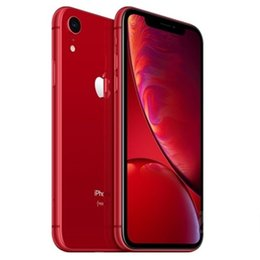 $enCountryForm.capitalKeyWord Australia - 100% Original Refurbished Cell Phones Apple iPhone XR 4G LTE Mobile phone 6.1inch 12.0MP 3G RAM 64G 128G ROM Face ID Cellphone