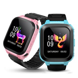 $enCountryForm.capitalKeyWord Australia - Children's watch Water Resistant Touch Screen Voice Chat One Key SOS For Help Camera Game Alarm Clock Wrist Watch