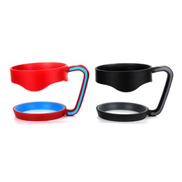 Wholesale oz oz Portable Plastic Hand handle Holder Mugs Portable Hand Holder For oz oz Cups Coffee Cups Drinkware tumblers Handle