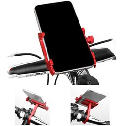 Wholesale Aluminum Alloy Bicycle Motorcycle MTB Phone Holder Universal Adjustable Phone Stand Bike Handlebar Bracket Rack