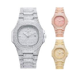 $enCountryForm.capitalKeyWord Australia - 2019 New Design Luxury Petke Philipe Women Watches High Quality Quartz Movement Full Diamond Wristwatch Crystal Dials