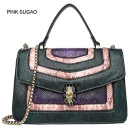 9197dcccad40 Розовый sugao Женщины сумки на ремне дизайнер роскошные crossbody сумка  кожа мини сумочка высокое качество известный бренд сумки завод Оптовая мода
