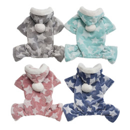 4925971802bc Pet Hoodie Sweater Dog Pajamas Soft And Cozy Pet Clothes For Small Dogs  Puppy Jumpsuit For Chihuahua Pomeranian Poodle Wholesale