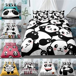 panda covers NZ - Panda 3D Comfort Covers Bedding Sets Quilt Duvet Cover Pillowcase Home Textiles Bedroom Bed Set