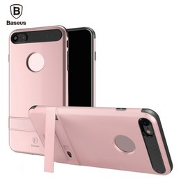 Baseus Cases Australia - Baseus WIAPIPH7 - SS0A iBracket Case with Kickstand Back Cover for iPhone 7 Plus 5.5 inch