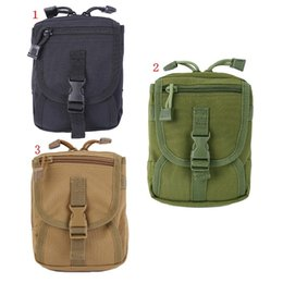 Military Style Packs Australia - Outdoor Hunting Bag Tactical Cross-body Utility MOLLE Pouch Shoulder Bag Pack Military Style Hiking Camping Daypack Sling K5 #433447