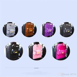 $enCountryForm.capitalKeyWord NZ - 2019 Auto Car Back Seat Storage Bag Car Seat Cover Organizer Holder Bottle Box Magazine Cup Phone Bag Backseat Organizer free shipping