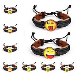 $enCountryForm.capitalKeyWord Australia - Multi-layer Yellow Emoji Bracelet Wristband Simple Style Charm Cute Bracelt Handmade Friendship Bracelets Accessories Jewelry M434Y