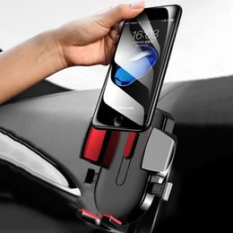 Discount gravity model - Universal Gravity Car Air Vent Mount Cradle Holder Stand Mobile Cell Phone GPS Tablet 3 Colors 2 Models