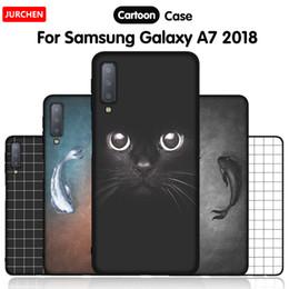 $enCountryForm.capitalKeyWord NZ - Phone Case For Samsung Galaxy A7 Cases A750 A750f Cartoon Soft Silicone Back Cover For Samsung Galaxy A7 Case