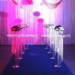$enCountryForm.capitalKeyWord Australia - New style silk cherry blossom flower wedding arch peach blossom flower metal frame for stage decoration best01176