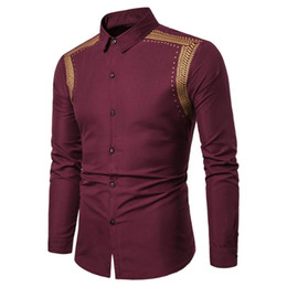 Mens Long Sleeve Blouses Lattice Plaid Painting Male Blouse Large Size Casual Top Shirts Blouse Shirts Camisa Masculina Durable Modeling Men's Clothing Casual Shirts