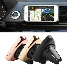 air vent magnetic phone holder Australia - A3 Air Vent Triangle Holder Rotating Mobile Phone Car Magnetic Universal Reusable Magnet Suction Bracket