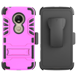 alcatel one touch phone covers 2019 - For Alcatel 7 Folio Revvl Fierce 4 One Touch Idol 3 XL One Plus 6T Belt Clip IVI Combo With Kickstand Holster Protective
